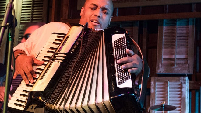 """Corey Ledet was a Grammy nominee for his 2012 CD, """"Nothin' But the Best,"""" with special guests Anthony Dopsie and Andre Thierry."""