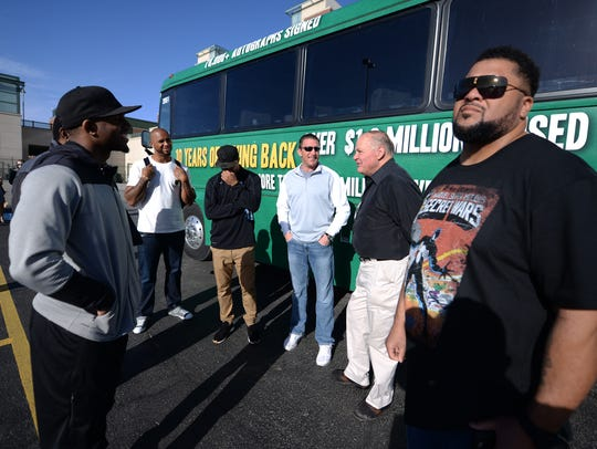 The Green Bay Packers Tailgate Tour hit the road Tuesday,