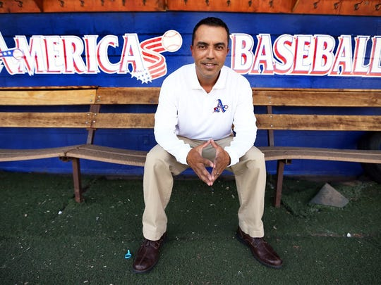 Jesse Munoz of Americas High School was the El Paso Times high school Baseball Coach of the Year in 2015.