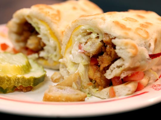 The Hani chicken pita rollup sandwich was born at National Coney Island in the 1980s.
