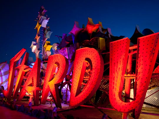 The Neon Museum is charged with collecting, restoring and exhibiting Las Vegas' 'original' art--those iconic neon signs.