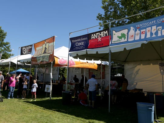 The Bite & Brew festival at Riverfront Park in Salem