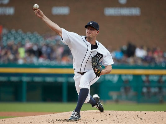 MLB: Cleveland Indians at Detroit Tigers