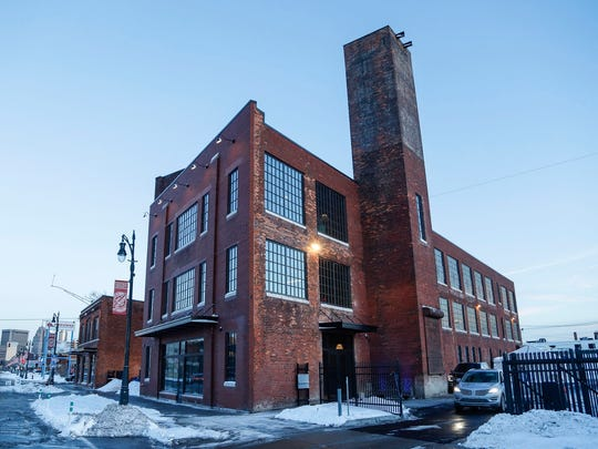 A historic building in Corktown known as the Factory, Thursday, December 14, 2017.