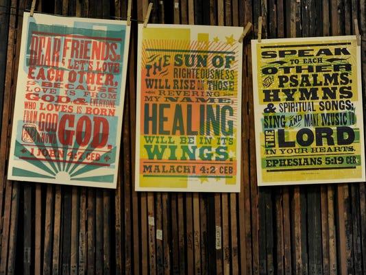 Hatch Show Print presents the Scripture