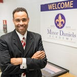 Three days into his role as principal of Minor Daniels Academy, Don Dillard looks forward to opening Jefferson County Public School's newly formed middle-high alternative school at 1960 Bashford Manor Lane, the site of the former Buechel Metropolitan High School.