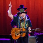 Willie Nelson and Merle Haggard perform at the Fox Theatre