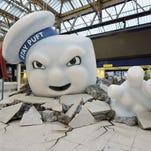 'Ghostbusters': Stay Puft statue