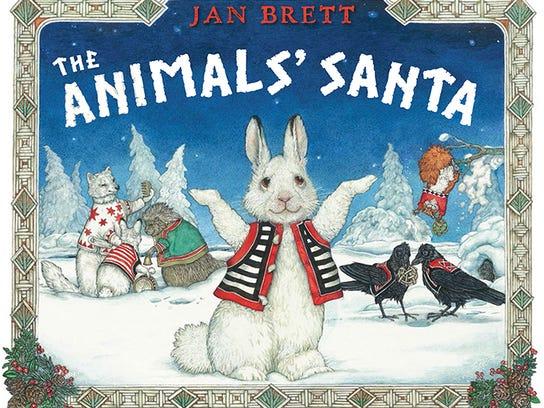 """The Animals' Santa"" by Jan Brett"