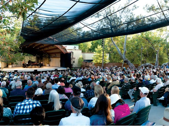 Libbey Bowl, shown here during an Ojai Music Festival, will play host to Wilson Phillips, Los Lonely Boys, Toad the Wet Sprocket and other bands this summer.