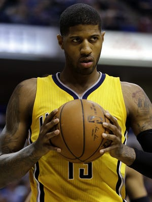 Pacers forward Paul George will hope to lead Team USA to gold in Rio.