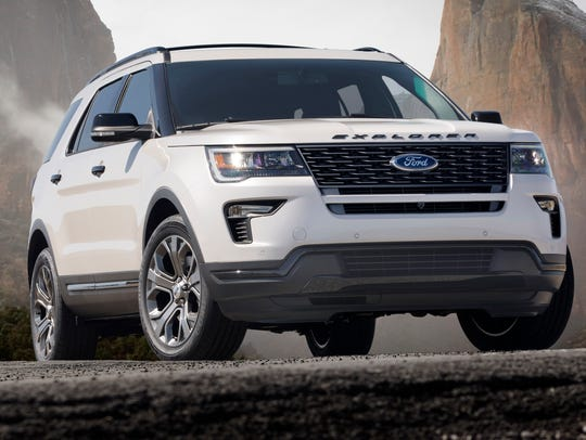 New 2018 Ford Explorer give customers upgraded style