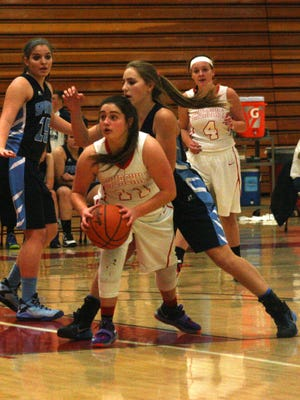 Alivia Kondrath, pictured during a game earlier this season, sparked Churchill's victory over Northville on Tuesday.