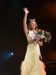Ashley Ellefson was selected as Miss Door County Outstanding Teen during the Miss Door County Scholarship Pageant on Saturday.