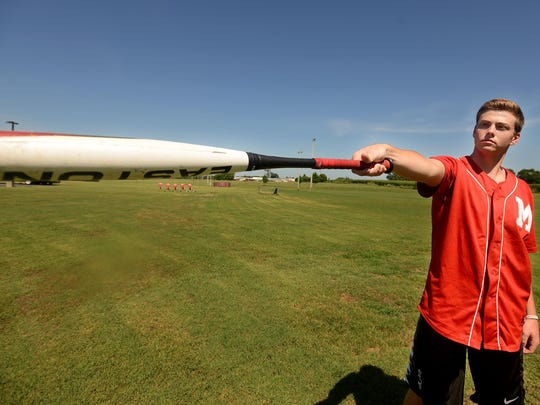 Jack Surber will play college baseball at Bethel University next year.