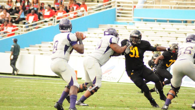 Grambling led the SWAC in sacks last year and will look to get after Arkansas-Pine Bluff after registering 8 sacks during a 2014 meeting.