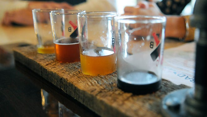 Bad Habits brewery opens on Saturday in St. Joseph. Doors opened at 2 p.m. and reached capacity within the hour.