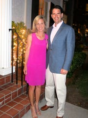 Anne Jenkins and hubby Shreveport City Councilman Oliver