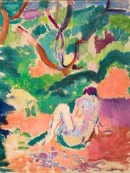 "Henri Matisse, ""Nude in a Wood,"" 1906, oil on board"