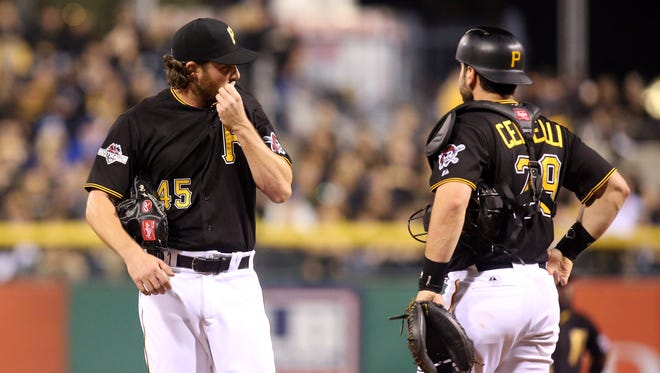 Gerrit Cole gave up four runs in five innings of work on Wednesday.