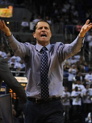 Eric Musselman helped resurrect the Wolf Pack basketball program in his first year in charge at Nevada.