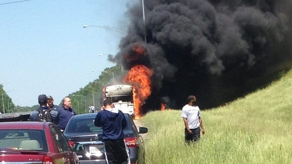 Jackson State baseball bus fire (2)