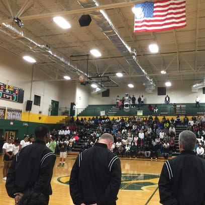 Hillsboro High School held a moment of silence before
