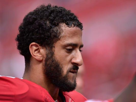 an Francisco 49ers quarterback Colin Kaepernick