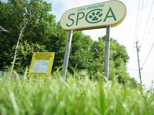 The Delaware SPCA's plans to sell its Stanton shelter building and property.