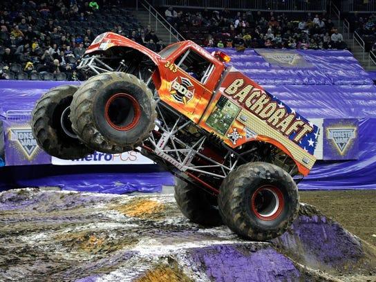 backdraft monster truck