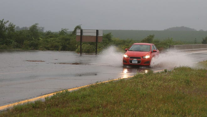 Des Moines has recorded daily rainfallstarting Sept. 25, stretching into the first weeks of October.