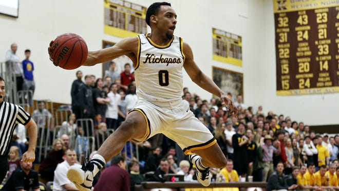 Kickapoo graduate Niekie Thomas-Fontleroy (0) will represent Springfield in the 2016 Lions All-star Classic on Saturday, June 11.