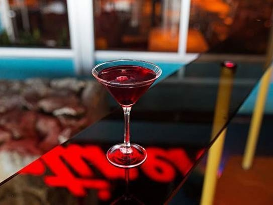 Holiday cocktails, including Nucky's  Manhattan, add to the festive occasion of visiting The Continental at the holidays.