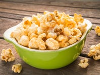 RECIPE: Parmesan garlic butter popcorn