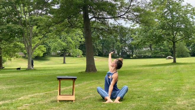 Four Corners Arts Center will be hosting an outdoor pop up Gyrokinesis Method movement series.