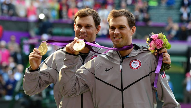 The Bryan brothers won gold in London.