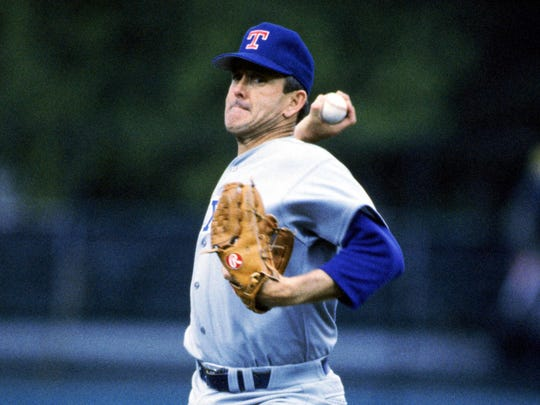 Nolan Ryan, MLB pitcher, career strikeout leader and
