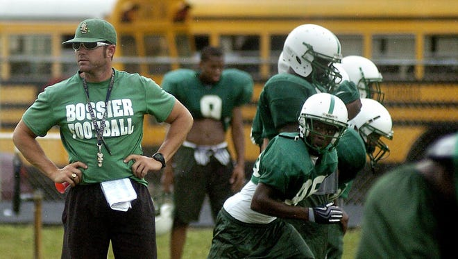 Bossier coach Mike Concilio said he sees signs of the Bearkats returning to the old Bossier.