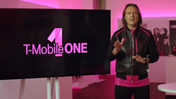 T-Mobile CEO John Legere unveils the carrier's new fully unlimited data plan in a video.
