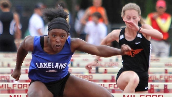 Lakeland junior Grace Stark is a two-time All-State hurdler and a top contender to win this year's state title.