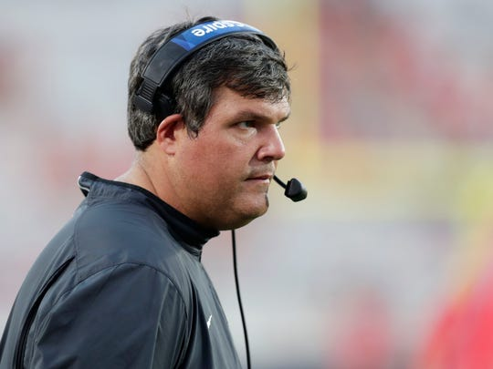 Matt Luke took over as Ole Miss' interim coach on July 20, after Hugh Freeze announced his resignation.
