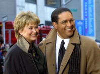 "Former NBC ""Today"" show co-hosts Jane Pauley and Bryant Gumbel during the morning show's 50th anniversary in New York. NBC says that Pauley and Gumbel will join Matt Lauer for Monday's show on Dec. 30."