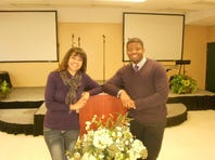 Ronnie Rose, with his wife, Sharmarra, is pastor of Greenville Church of Christ.
