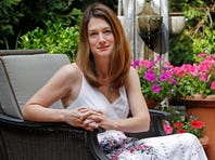 """This book cover image released by Crown shows """"Gone Girl,"""" by Gillian Flynn. (AP Photo/Crown)"""