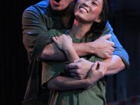 """Will Ray and EJ Zimmerman portray Chris and Kim in """"Miss Saigon"""" at Riverside Theatre ."""