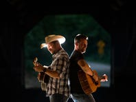 The duo plays the Shenandoah Jamboree on April 5.