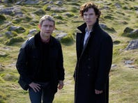 Martin Freeman and Benedict Cumberbatch return in season four of BBC's production of 'Sherlock,' for Masterpiece Mystery.