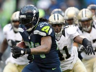Seattle's Lynch has become a star by embracing contact