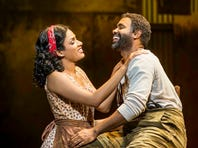 "Alicia Hall Moran (as Bess) and Nathaniel Stampley (Porgy) star in the national Broadway tour of ""The Gershwins' Porgy and Bess,"" coming to the Peace Center for eight performances, Jan. 28-Feb.2."