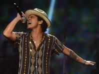 Bruno Mars performs Sept. 21 at IHeartRadio Music Festival in Las Vegas.